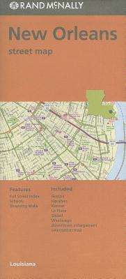Rand Mcnally New Orleans/hammond/ponchat, Louisiana Street Map By Rand McNally and Company (COR)